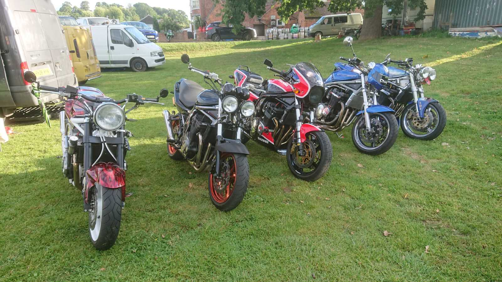Suzuki Bandit Owners Club GB Shows