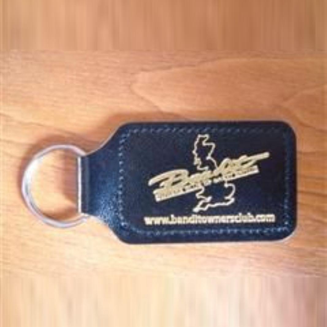 Club Leather Key Fob